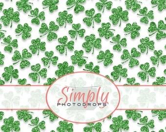 Items Similar To Shamrock Hair Ties Set Green Clovers St