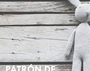 Agapito the bunny - Bunny amigurumi pattern - Crochet toy pattern - Rabbit amigurumi pattern