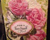 3D Elegant Floral Card