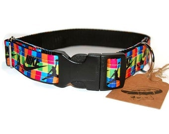 Jump Dog Collar. Sports Brand. Colored.