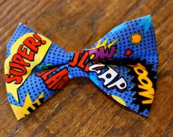 Superhero Sayings Bow Tie | Bow Tie for Men | Bowtie | Dog Bow Tie | Superhero Bow Tie | Boys Bow Tie | Wedding Bow Men | Groomsmen