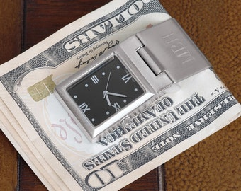 Watch Money Clip (g123-1112) - Free Personalization