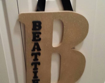 Personalized Hanging Sign