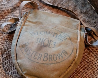 1930's Buster Brown Shoes Child's Knapsack
