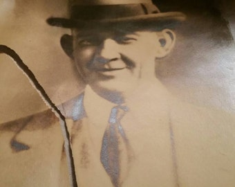 Vintage pictures of old man