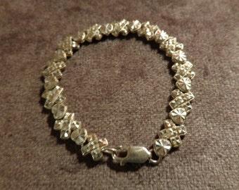 Beverly Hills sterling bracelet, XO