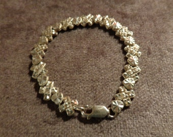 Sterling silver XO Beverly Hills bracelet