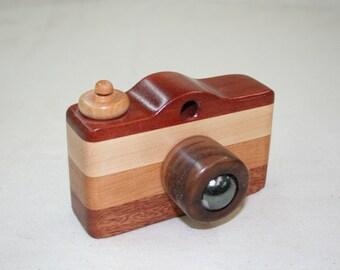 Camera Christmas gift  wood toys