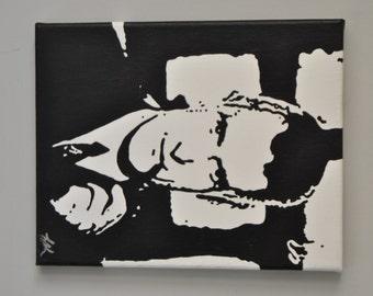 "Original ""Hugh Hefner"" Painting"
