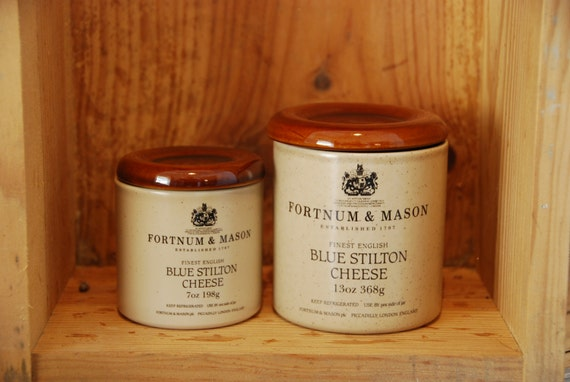 pot stilton en gr s anglais fortnum et mason pour fromage. Black Bedroom Furniture Sets. Home Design Ideas