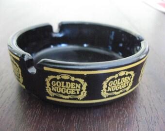 Vintage Golden Nugget Ashtray