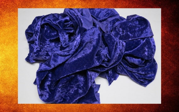 big sale fabric scraps purple panne velvet velour fabric scrap pieces and remnants for doll. Black Bedroom Furniture Sets. Home Design Ideas