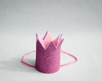 Crown birthday glitter