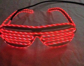 el wire glasses el running wire glasses