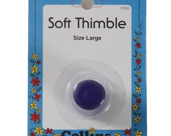 Soft Thimble by Collins ~ Size Large ~ Item # C153