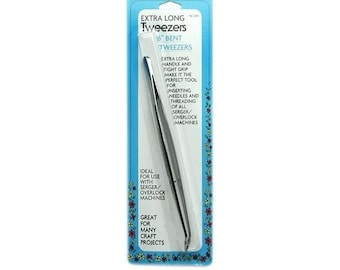 "Collins 6"" Extra Long Tweezers W-60"