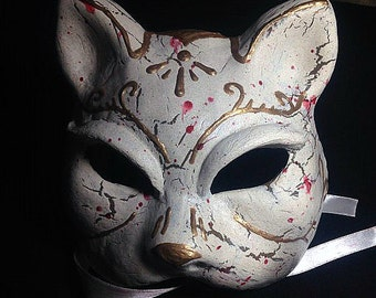 Bioshock Cat Splicer Inspired Mask