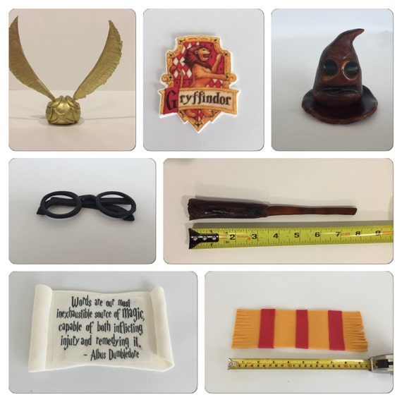Harry Potter Cake Decorating Kit Topper : Pin Harry Potter Step Above Hogwarts Cake Decorating Kit ...