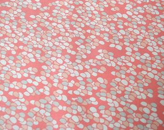 Coquette from Art Gallery fabrics coral pink quilt fabric half yard or yardage