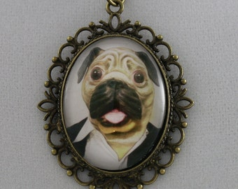 Steampug Jr: Casual - Cameo Necklace