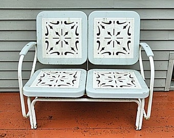Metal Patio Furniture On Etsy A Global Handmade And