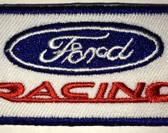 Ford Racing   3 x 2  inch patch iron on or sew on