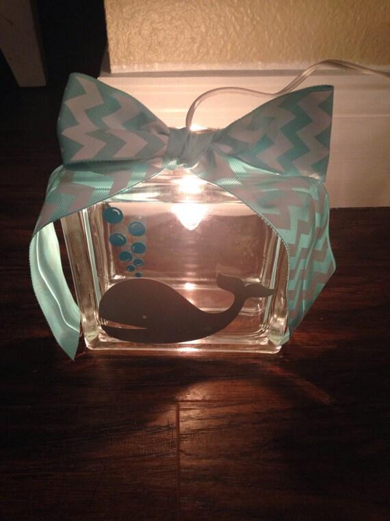 6x 6 Decorative Glass Block