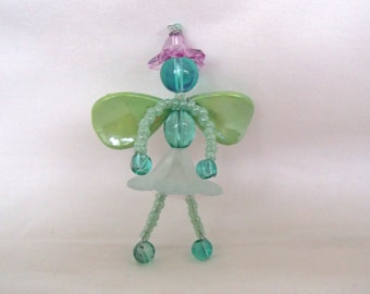 Fairy, Beaded with Wire