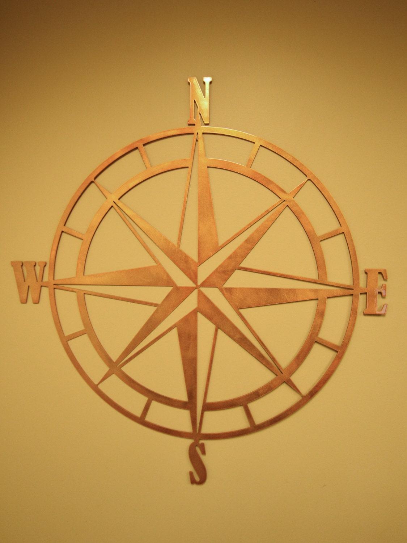 Nautical compass rose