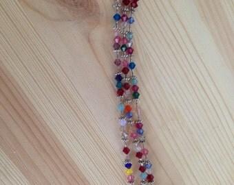 3-Strand Swarovski bracelet