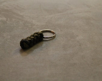 Paracord Survival Key Chain - Grey and Coyote
