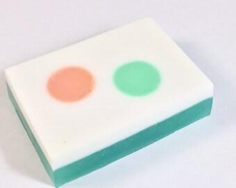 Freshwater Citrus Soap | Handcrafted Glycerin Soap | Handmade Soap | Orange Soap | Lemon Soap | Lime Soap | Citrus Soap | Vegan Soap