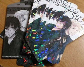 Anime Fanart Prism Bookmarks
