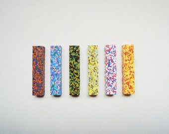 Dot Musee Multi Colour Crayons. Set of 6.