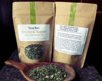 Structural Support loose leaf tea