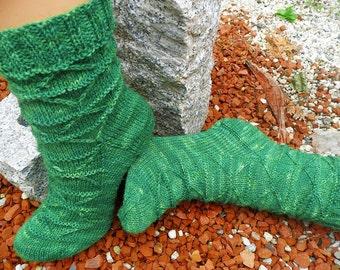 "Knitting pattern ""Triangelsocks"""