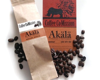 Ground Coffee Samples or Whole Bean Coffee 50g from Coffee Co-Mission