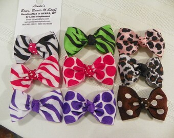 Infant Hairbows on Alligator Clips