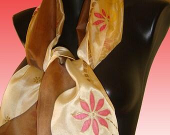 Silk Shawl Flowers