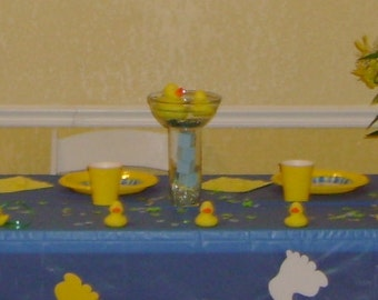 Rubber Duckie Centerpieces