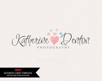 Logo design - Watercolor logo - premade logo