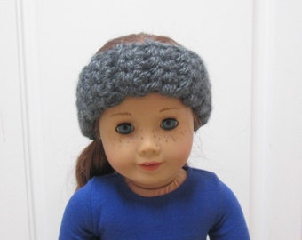 Ear warmers for American girl dolls