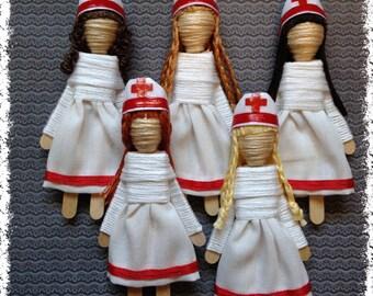 Worry Doll - Nurse