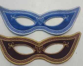 Mask Machine Embroidery Design Digital INSTANT DOWNLOAD