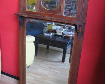 Vintage Mantelpiece Mirror