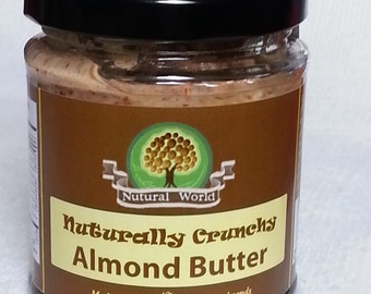 Almond Butter, delicious and pure without any additives
