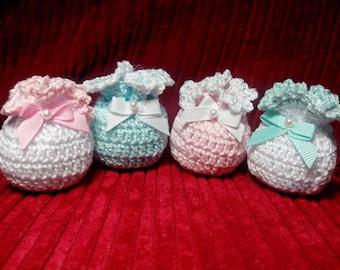 Saquitos crochet-Crochet sacks-Sacs-crochet bag crochet