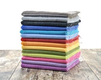 SALE  Towel Fouta Towel Natural Cotton Towel Family Gift Ideas Sauna Towel Sofa Cover Baby Wearing Guest Bath Towel Beach Peshtemal