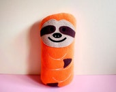 Plush Toy - The MINI Slothful Plush Friend (Orange)
