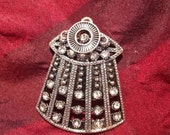 Dalek Deco Brooch - Fancy Doctor Who Pin
